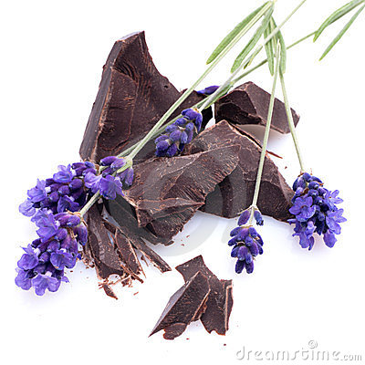 Chocolate, lavender