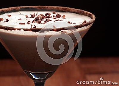 Chocolate martini Garnish