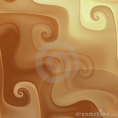 Free Chocolate Melting Curves Royalty Free Stock Images - 4652629