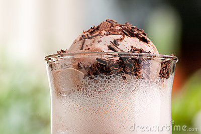 Chocolate Milk Float