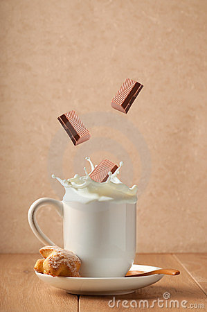 Chocolate Milk Splash