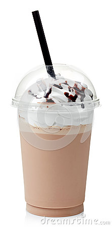 Free Chocolate Milkshake Stock Images - 44351814