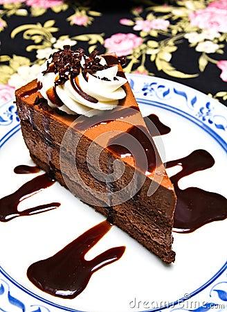 Chocolate moose cake