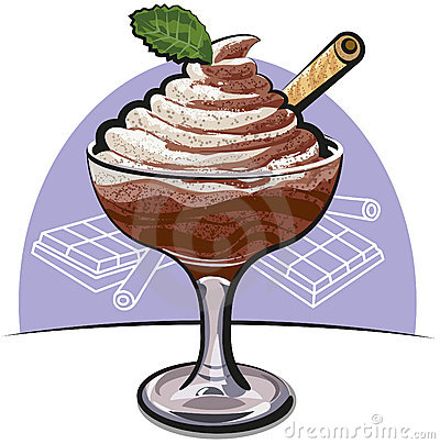 Chocolate Mousse Stock Photos - Image: 22933813