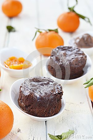 Chocolate mud cakes