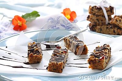 Chocolate Muesli Bars