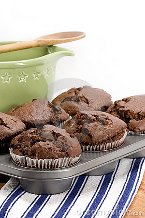 Free Chocolate Muffins Royalty Free Stock Photos - 14061508
