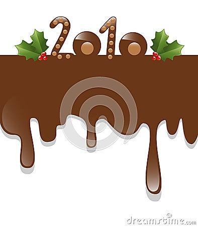 chocolate new year 2010