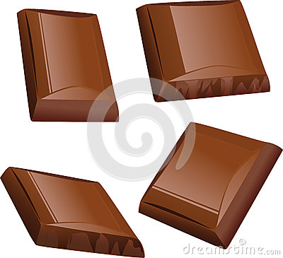 Chocolate piece