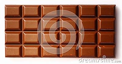 Chocolate slab background