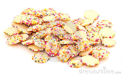 Chocolate sprinkle sweets