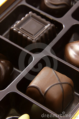 Chocolate Square Truffles