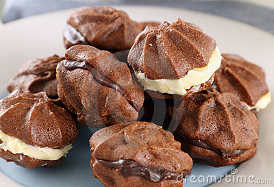 Chocolate Star Biscuits