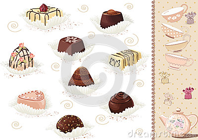 Chocolate sweets