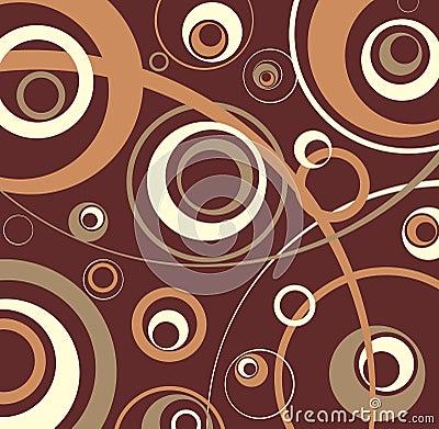 Chocolate texture.Vector.