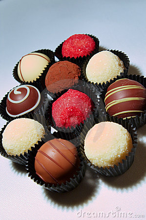Chocolate Truffles Assortment