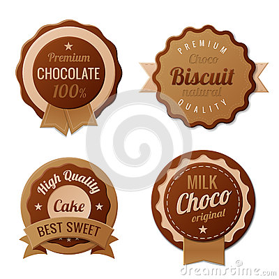Chocolate Vintage Labels