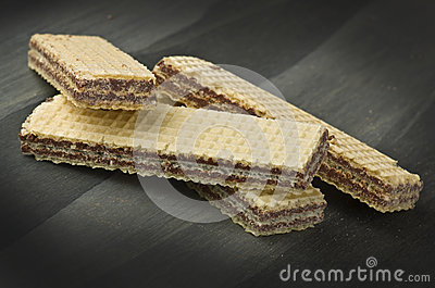 Chocolate wafer