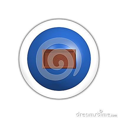 Chocolate web button