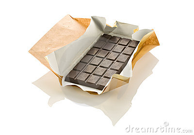 Chocolate in a wrapper