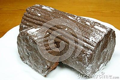 Chocolate yulelog