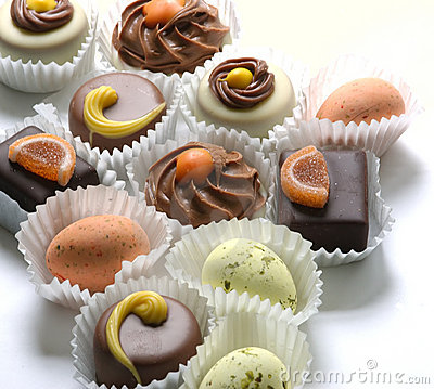 Free Chocolates Royalty Free Stock Photos - 118228