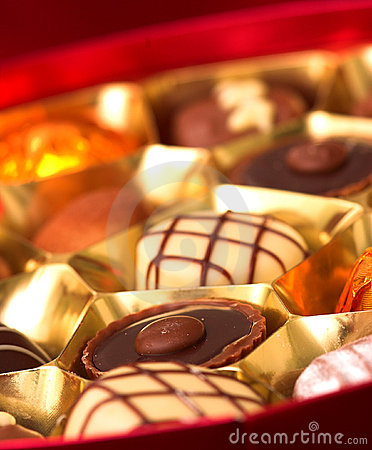 Free Chocolates Royalty Free Stock Photography - 1682537