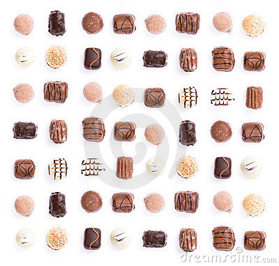 Free Chocolates Royalty Free Stock Photos - 2568258