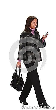 Chodząca kobieta