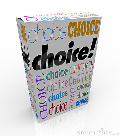 Choice - Product Box Alternative to Choose