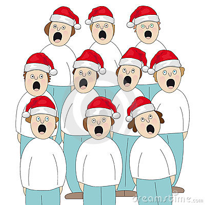 Displaying (19) Gallery Images For Christmas Kids Singing Clip Art...