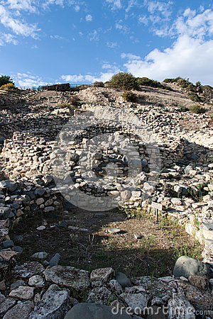 Choirokoitia Unesco site in Cyprus