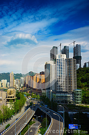 Chongqing city Editorial Photo