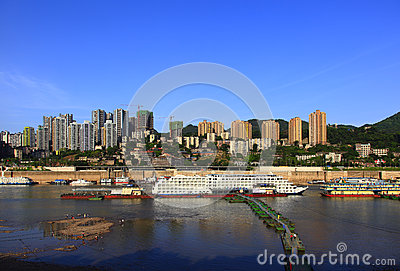 Chongqing Port Editorial Image
