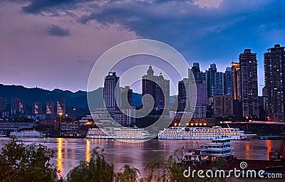 Chongqing port Editorial Photo