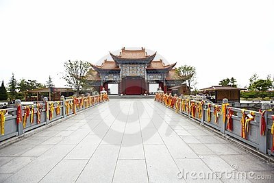 The chongsheng temple