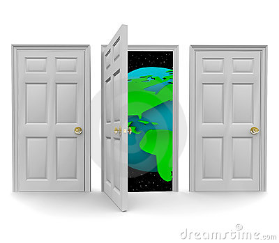 Choose the Door to a World of Opportunity
