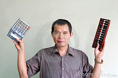 Choose of Electronic Calculator or traditional aba