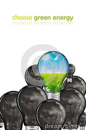 Choose green energy