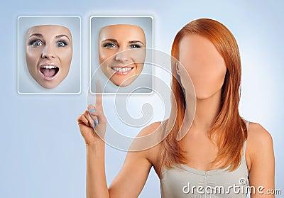 Choosing face