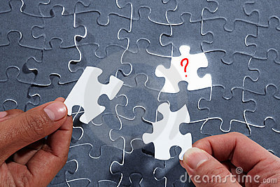 Choosing the right piece of puzzle