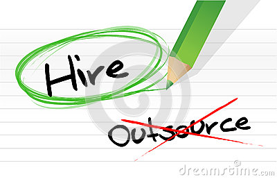 Choosing to Hire instead of Outsource