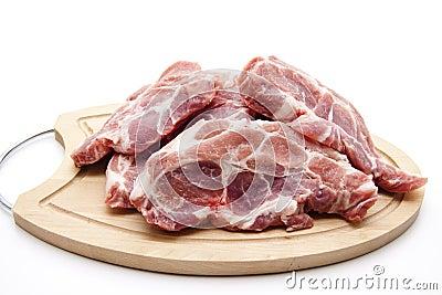 Chop raw with bones