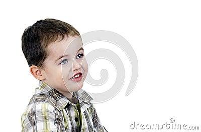 Chłopiec target779_0_ śliczny mały