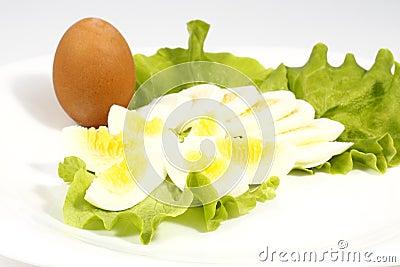 Chopped eggs