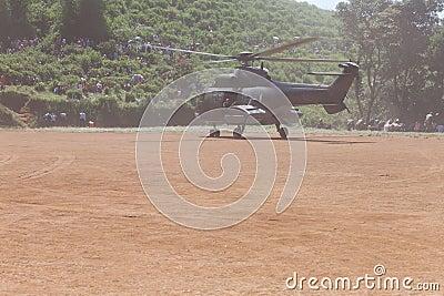 Chopper Land Editorial Stock Photo