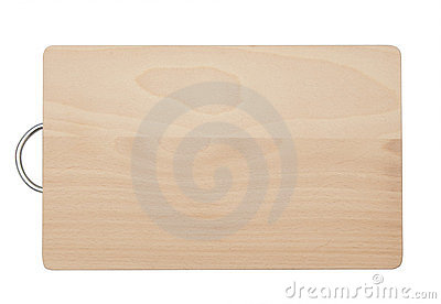 Chopping board isolated