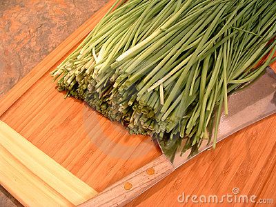 Chopping Chives