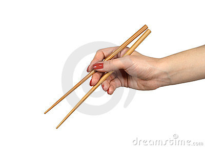 Chopsticks in a hand1