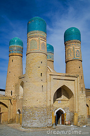 Chor Minor Minaret in Bukhara